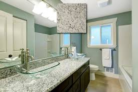 Vanity Top For Vessel Sink Kitchen Glass Vessel Sink And Dallas White Granite Vanity Top