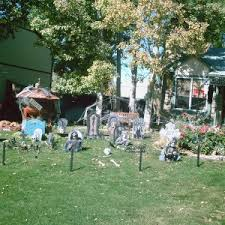 Scary Halloween Decorations For Outside by Decorating Best Diy Halloween Yard Decoration Ideas For Outdoor