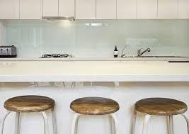 crédences de cuisine en verre laqué sur mesures credence cuisine blanc laque 2 cr233dence verre sur mesure