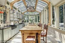 imagine thanksgiving dinner in these luxury kitchens
