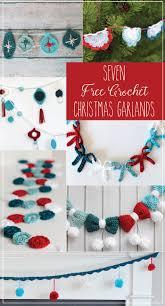 crochet garland blog hop crochet christmas garland crochet