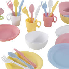 Kidkraft Pastel Toaster Set Pastel Dining Set 27 Pieces Kidkraft Toys And Hobbies Teen