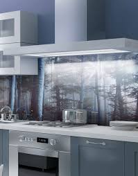 Kitchen Splashbacks Fairy Tale Forest Printed Acrylic Kitchen Splashback Splash Acrylic