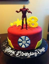 arc reactor iron man birthday cake gâteau d u0027anniversaire iron