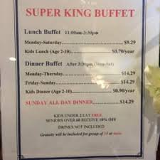 Buffet King Prices by Photos For Super King Buffet Yelp