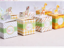 baby shower favor boxes aliexpress buy free shipping 60pcs baby shower favors box