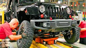 where is jeep made this is how jeep are made inside factory production line