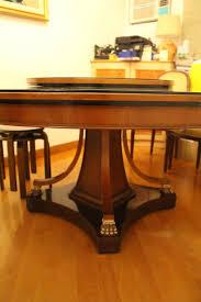 lane furniture dining room european round dining table bought from lane crawford secondhand hk