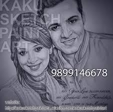 sketch artist in delhi ncr kaku sketch paint art 9899146678