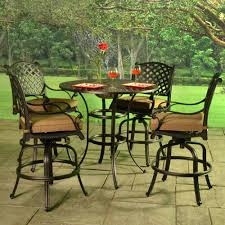 Bar Height Patio Set With Swivel Chairs Patio Ideas Traditional Outdoor Umbrella Patio Contemporary With