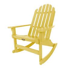 Garden Rocking Chair shop durawood essential adirondack rockers on sale