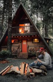 wood cabin 240 best cabañas images on log cabins tiny house