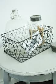 Shabby Chic Wire Baskets by 87 Best Farmhouse Style Wire Images On Pinterest Wire Farmhouse