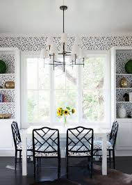 dining room wallpapers rectangle clear glass dining table top