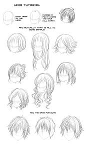 all types of anime hair google search 자료 pinterest anime