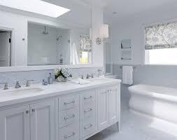 Blue Subway Tile Transitional Bathroom LDa Architects - Bathroom subway tile backsplash