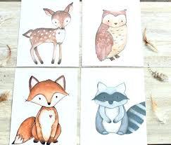 Woodland Animals Nursery Decor Woodland Creatures Decoration Woodland Animal Printable