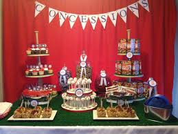 baseball theme baby shower dessert table colleen mullenex a