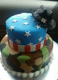 marine camo american flag birthday cake cake by dani my