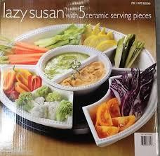 server lazy susan 5 serving pcs kitchen server dining bar picnic
