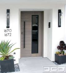 contemporary oak door with sandblast sidelights gates or front