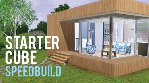 the sims 3 speed build u2014starter home base game only youtube