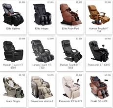 Top Massage Chairs Massage Chair Buyers Guide Top 5 Elite Massage Chairs