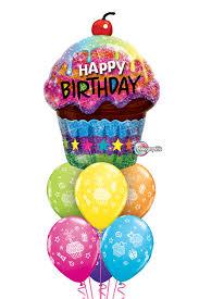 balloon bouquets awesome balloon bouquet happy birthday cupcake balloon