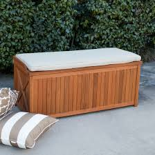 Patio Cushion Storage Bin by Outdoor Furniture Cushions Storage Box
