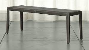entry bench with storage folio top grain leather bench entryway