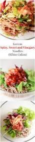 bibim guksu spicy sweet and vinegary noodles my korean kitchen