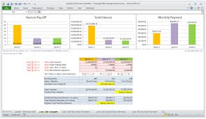 Mortgage Calculator In Excel Template Mortgage Amortization Excel Spreadsheet Laobingkaisuo Com