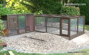 Rabbit Hutch With Run For Sale Rabbit Accommodation Housing Ideas For Bunny Rabbits Best 4 Bunny