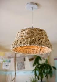 Pendant Light Diy Diy Project Woven Rope Pendant L Design Sponge