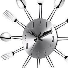 kitchen clocks modern aliexpress com buy 3d large wall clock modern design stainless