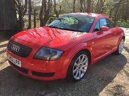 2002 audi tt quattro 1 8 turbo 225 bhp missano red in nuneaton