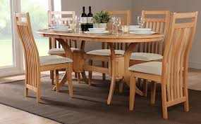 oval dining table set for 6 oval kitchen table sets home designs dj djoly oval kitchen table