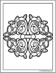 Coloring Page Of A 90 Celtic Coloring Pages Irish Scottish Gaelic by Coloring Page Of A
