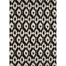 well suited black and white aztec rug brilliant decoration