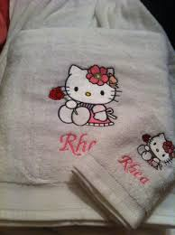 Machine Embroidery Designs For Kitchen Towels Kitchen Towel With Hello Embroidery S Gallery