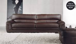 Mac  Seater Leather Sofa Top Grain Leather Delux Deco Carleto - 4 seat leather sofa