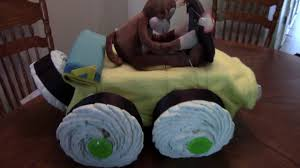 jeep cake tutorial jeep diaper cake on vimeo