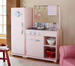 barn kitchen pink all in 1 retro kitchen pottery barn kids