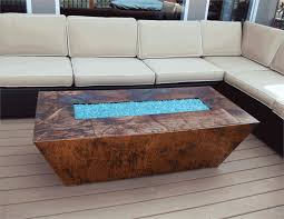 rectangle propane fire pit table unlimited rectangle propane fire pit contemporary gas