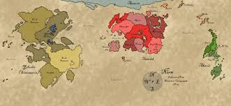 Thedas Map What Location From Your Point Of View Would Be The Best Setting