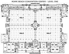 Orange County Convention Center Floor Plan Trade Show Design Example Work Pinterest Software