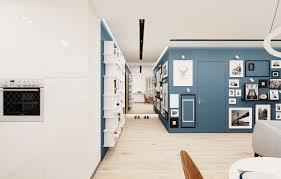 projekt mieszkania 60m2 freelancers 3d