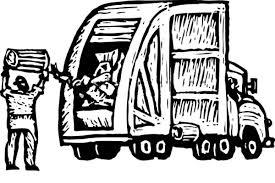 rear loader garbage truck coloring pages rear loader garbage