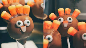 thanksgiving recipe turkey cake pops