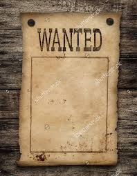 19 wanted poster designs psd vector eps download